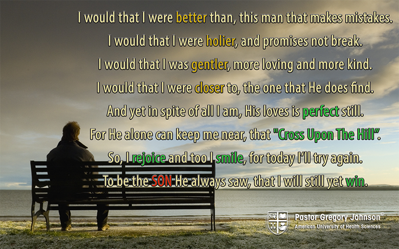 I would that I were better than …
