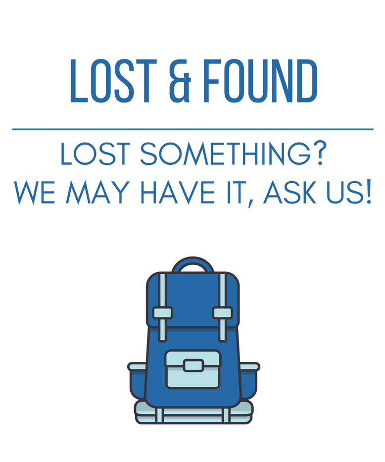 AUHS Library Lost and Found