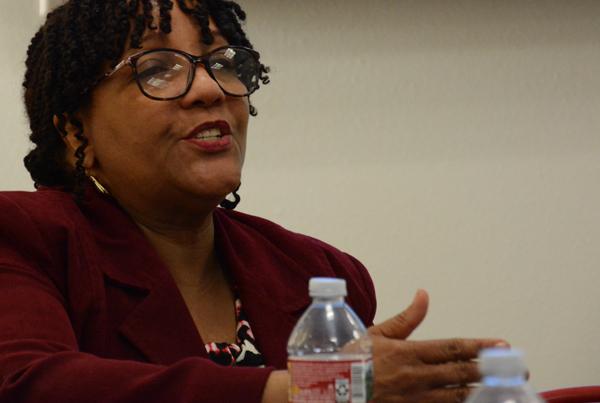 Deborah Collins Speaks at AUHS Employer Panel